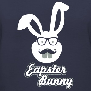 Eapster Bunny - Women's V-Neck T-Shirt
