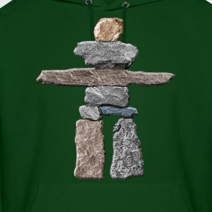 Native American Inukshuk  Hoodies - Men's Hoodie
