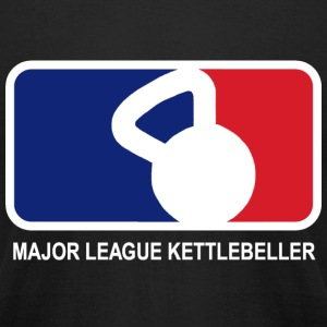 Major League Kettlebeller - Men's T-Shirt by American Apparel