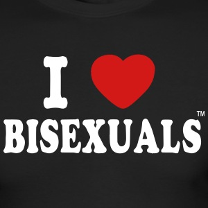 I LOVE BISEXUALS Long Sleeve Shirts - Men's Long Sleeve T-Shirt by Next Level