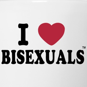 I LOVE BISEXUALS Bottles & Mugs - Coffee/Tea Mug