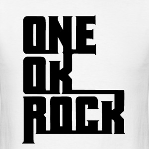 ONE OK ROCK LOGO (Black) T-Shirts - Men's T-Shirt