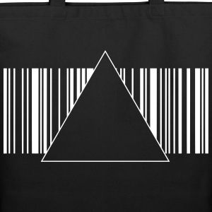 Hipster Barcode 1c Bags  - Eco-Friendly Cotton Tote