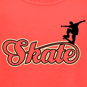 skate Tanks - Women's Flowy Tank Top by Bella