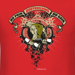 Bodybuilding - No Pain 001 T-Shirts - Men's T-Shirt