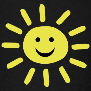 Smiley Summer Sun T-Shirts - Men's T-Shirt