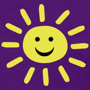 Smiley Summer Sun Women's T-Shirts - Women's T-Shirt