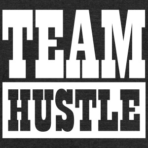 Team Hustle T-Shirts - Unisex Tri-Blend T-Shirt by American Apparel