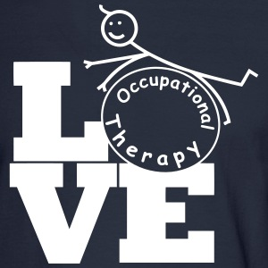 LOVE Occupational Therapy Long Sleeve Shirts - Men's Long Sleeve T-Shirt