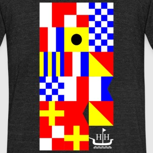 HH Flags T-Shirts - Unisex Tri-Blend T-Shirt by American Apparel