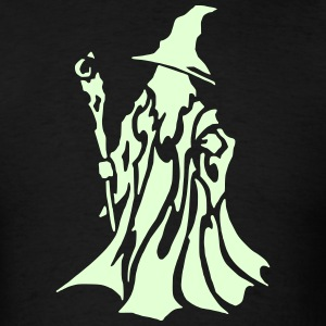 Wizard 2 (Glow in the Dark) - Men's T-Shirt