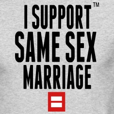 I SUPPORT SAME SEX MARRIAGE Long Sleeve Shirts
