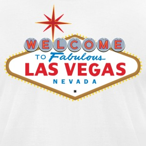 Las Vegas Sign T-Shirts - Men's T-Shirt by American Apparel