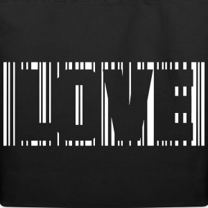 Barcode Love 1c Bags  - Eco-Friendly Cotton Tote
