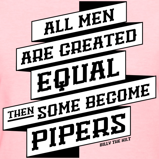 All Men Are Created Equal - Girlz