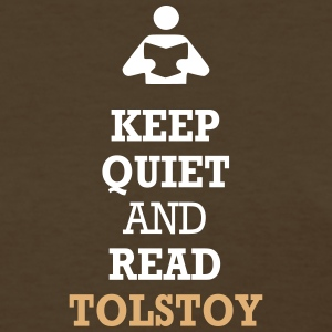Keep Quiet and Read Tolstoy Women's T-Shirts - Women's T-Shirt