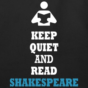 Keep Quiet and Read Shakespeare Bags  - Eco-Friendly Cotton Tote