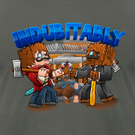 Design ~ Indubitably T-Shirt by American Apparel (M)