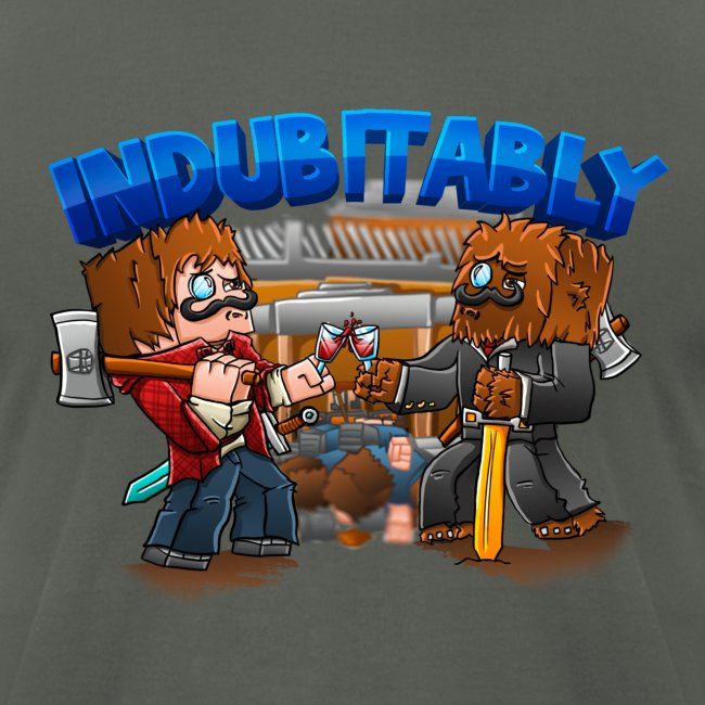 Indubitably T-Shirt by American Apparel (M)