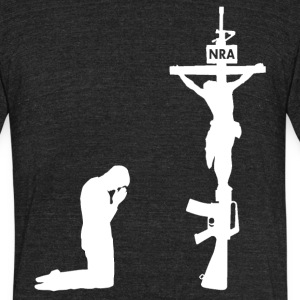 Our New Religion T-Shirts - Unisex Tri-Blend T-Shirt by American Apparel