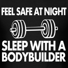 feel safe at night sleep with bodybuilder