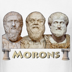 Morons - Men's T-Shirt