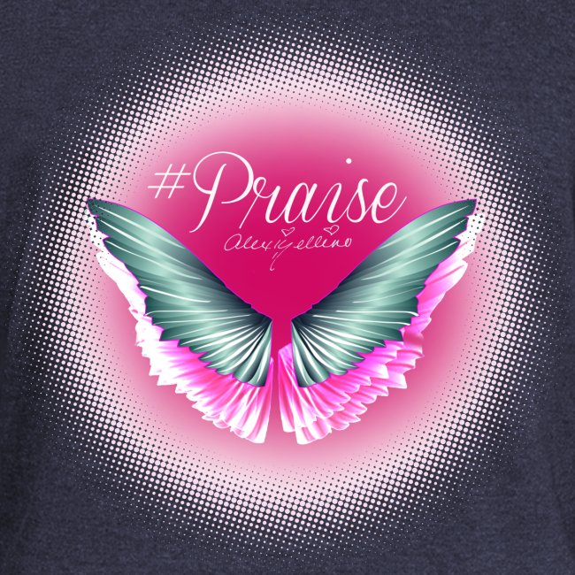 Praise Angel Wing Sweatshirt by Alexis Bellino