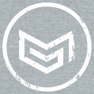 Design ~ MadGlory Distorted Logo White
