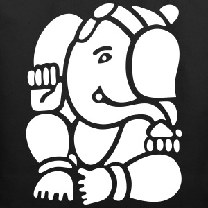 Ganesha the Indian God - Eco-Friendly Cotton Tote
