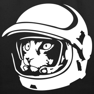 Space cat astronaut - Eco-Friendly Cotton Tote