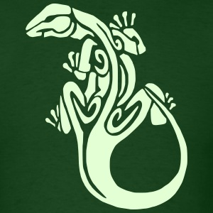 Lizard 3 (Glow in the Dark) - Men's T-Shirt