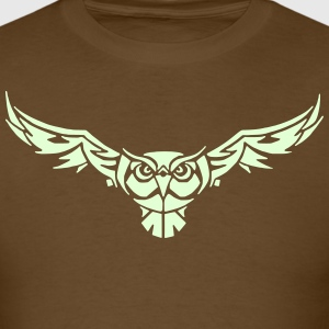 Owl 8 (Glow in the Dark) - Men's T-Shirt
