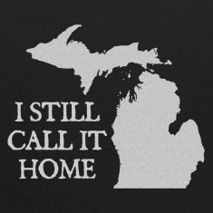I Still Call It Home Down with Detroit Sweatshirts