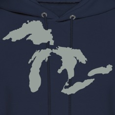 Michigan Down with Detroit Hoodies