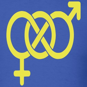 BISEXUAL LOGO T-Shirts - Men's T-Shirt