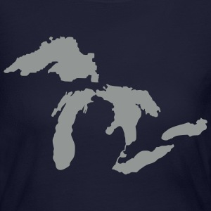 Michigan Down with Detroit Long Sleeve Shirts - Women's Long Sleeve Jersey T-Shirt