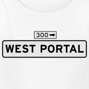 West Portal Ave Street Sign Kid's Shirt - Kids' T-Shirt