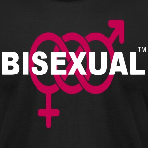 BISEXUAL T-Shirts - Men's T-Shirt by American Apparel