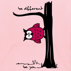 Owl on tree - be different, be you Sweatshirts - Kids' Hoodie