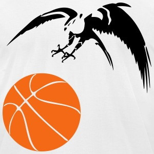 hawk basketball T-Shirts - Men's T-Shirt by American Apparel