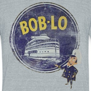 Boblo Amusement Down With Detroit T-Shirts - Unisex Tri-Blend T-Shirt