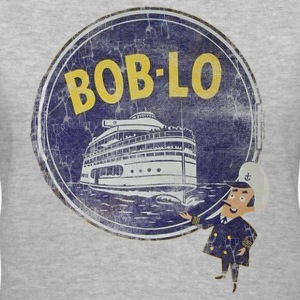 Boblo Amusement Down With Detroit Women's T-Shirts - Women's V-Neck T-Shirt