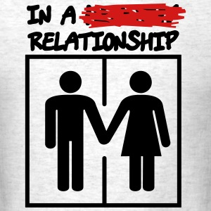 Relationship BLK - Men's T-Shirt