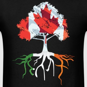Canada Irish Roots Irish Celtic Apparel T-Shirts - Men's T-Shirt