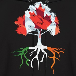 Canada Irish Roots Irish Celtic Apparel Hoodies - Men's Hoodie