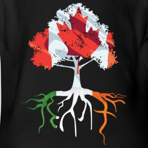 Canada Irish Roots Irish Celtic Apparel Baby & Toddler Shirts - Short Sleeve Baby Bodysuit