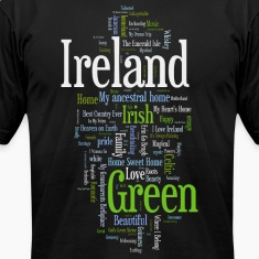 Ireland Words Irish Celtic Apparel T-Shirts