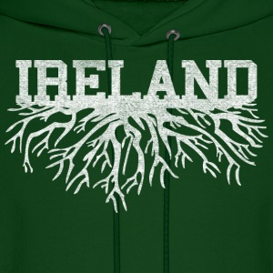 My Irish Roots Irish Celtic Apparel Hoodies - Men's Hoodie