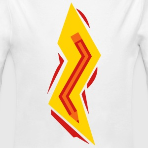 Pencil Lightning Bolt Baby & Toddler Shirts - Long Sleeve Baby Bodysuit