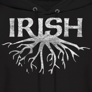 Irish Roots Irish Celtic Apparel Hoodies - Men's Hoodie